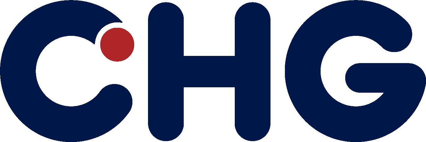 CHG's logo.