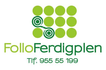 Follo Ferdigplen's logo.