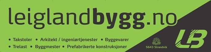 Leigland Bygg AS's logo.