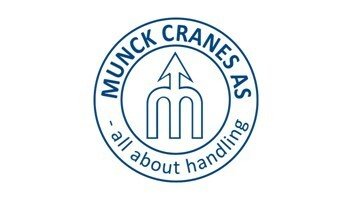 Munck Cranes AS's logo.